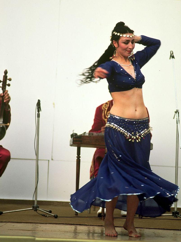 Самарканд. Танцовщица