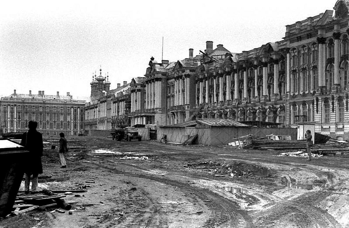 Западный фасад Екатерининского дворца