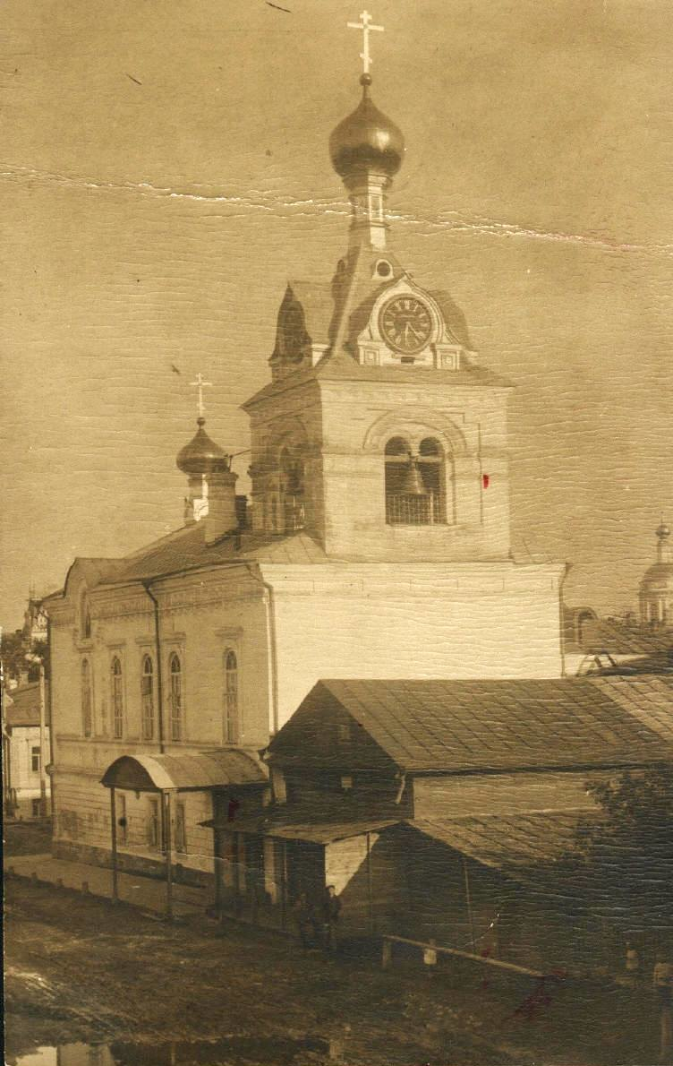 Сиротская улица. Подворье Троицкого Ильинского монастыря