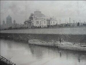 12. Вид на Императорский павильон с Обводного канала