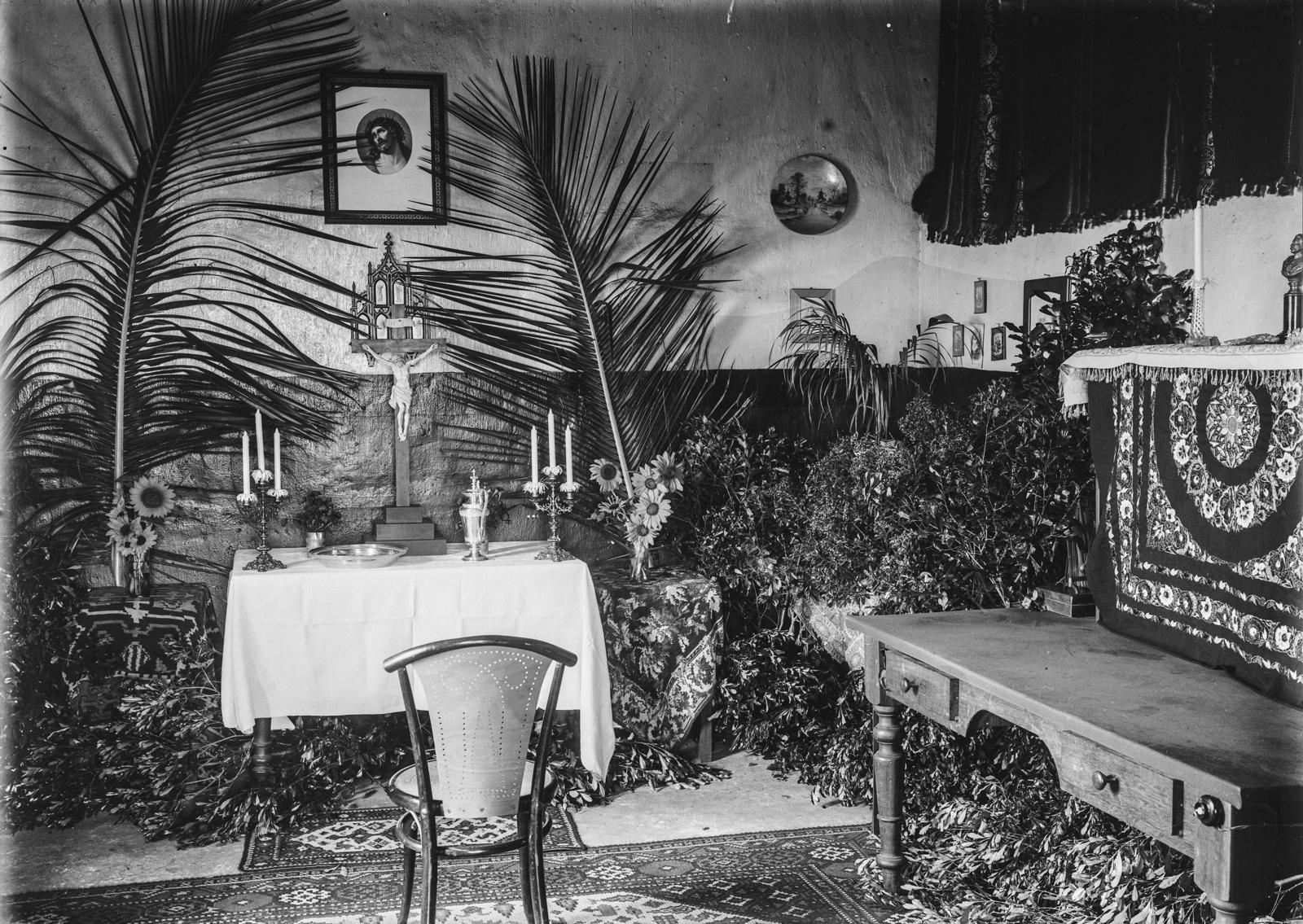 78. Украшенная алтарная комната, возможно, для крещения, в Моши