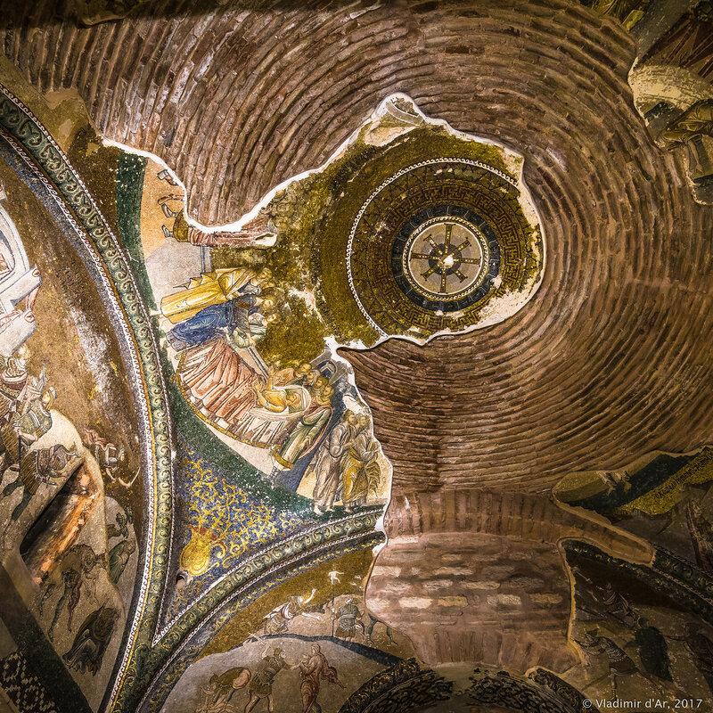 Мозаики Хоры. Церковь Христа Спасителя в Полях.