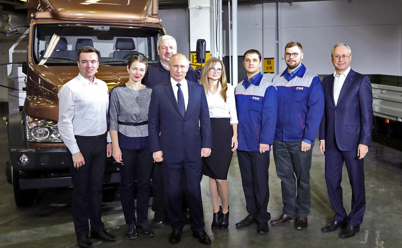 Посещение Горьковского автомобильного завода 6 дек. 2017(3)