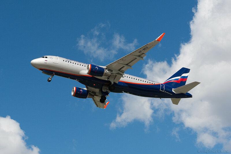 Airbus A320-214 (VP-BEO) Аэрофлот 0447_D703499