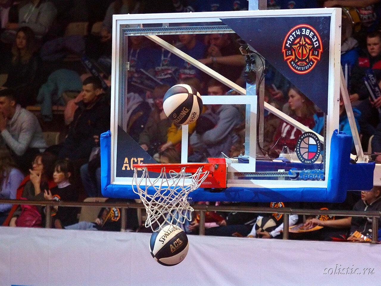 47 Матч звезд АСБ 2018 (ассоциации студенческого баскетбола)
