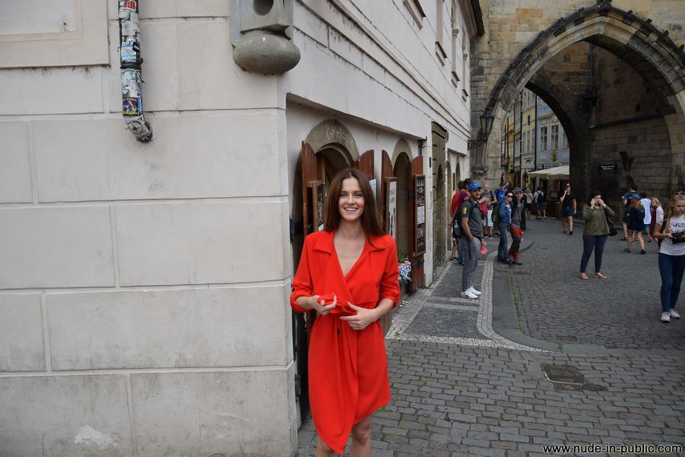 Голая Katerina в Праге