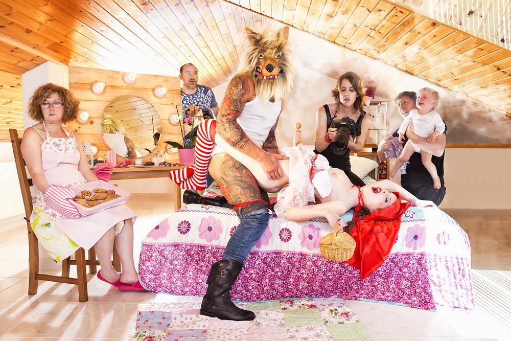 Фотопроект Сандры Торральба «Estranged Sex»