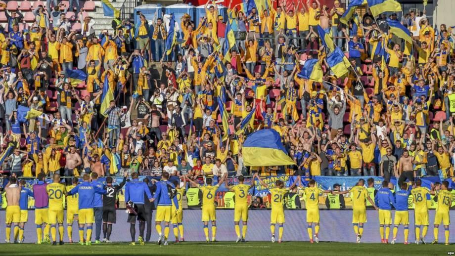 Футбол: сборная Украины победила Японию