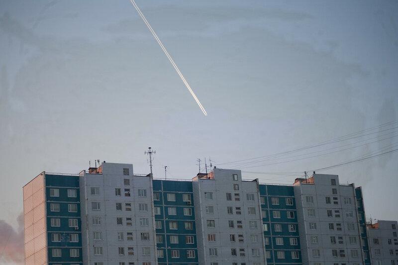 Самолеты над Нижневартовском
