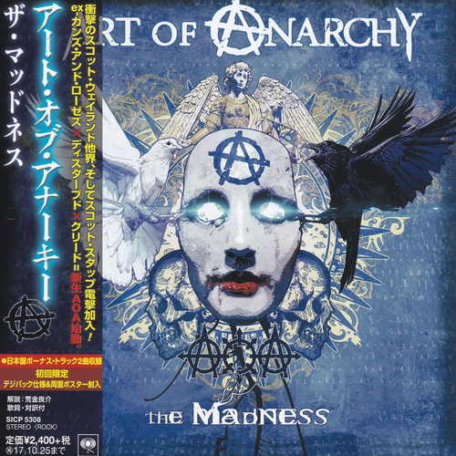 Art Of Anarchy - 2017 - The Madness [Sony, SICP 5308, Japan]