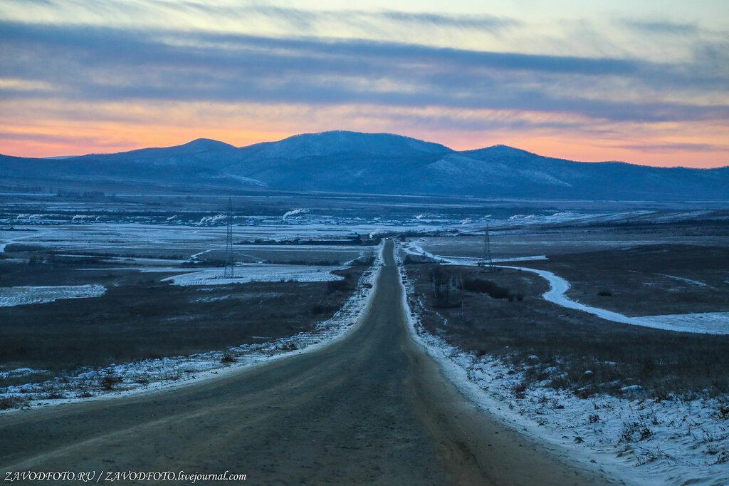 По дорогам Забайкалья