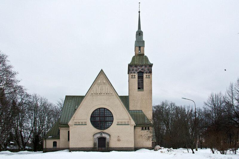 Лютеранская церковь в Зеленогорске. Кирха Преображения Господня