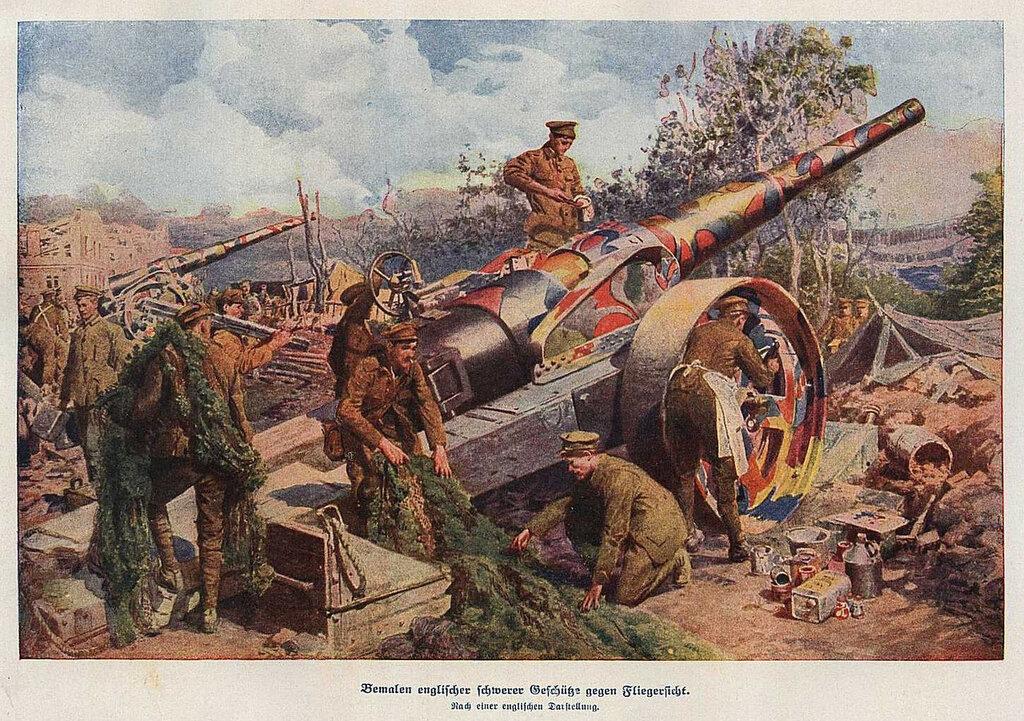 Fortunino Matania, Six-in Guns (1916).jpg
