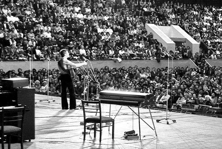 6. Концерт Владимира Высоцкого в Харькове, 1978 год (фото из личного архива певца)   Когда Высо