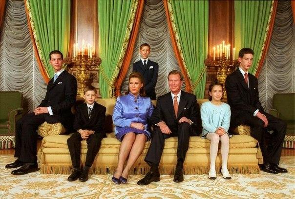 У герцога Анри Люксембургского и его жены Марии Терезы пятеро.