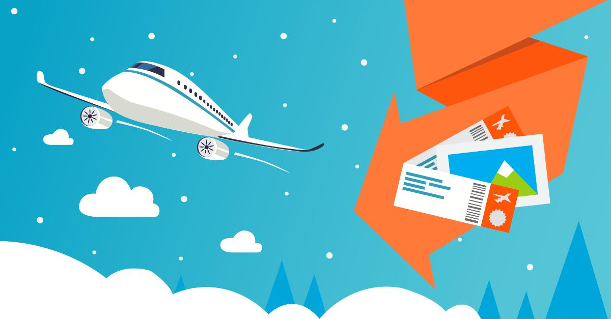 Перелёт на самолёте может быть дешевле если правильно купить билеты (1 фото)