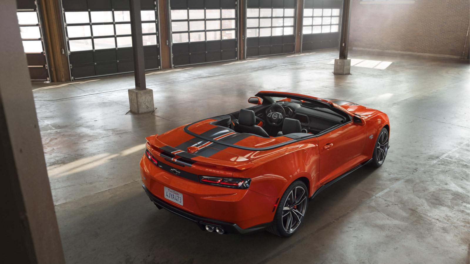 Chevrolet оформил Camaro под игрушку
