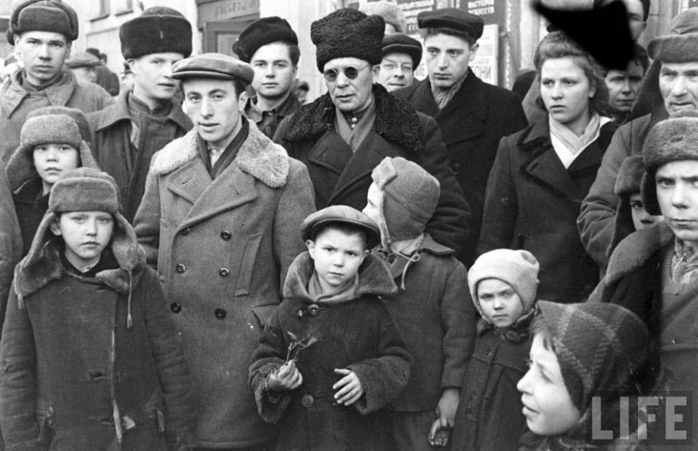 Послевоенная Москва