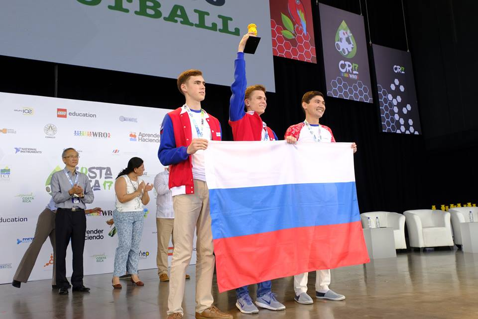 Пять золотых медалей российской сборной на Всемирной олимпиаде роботов (3 фото)