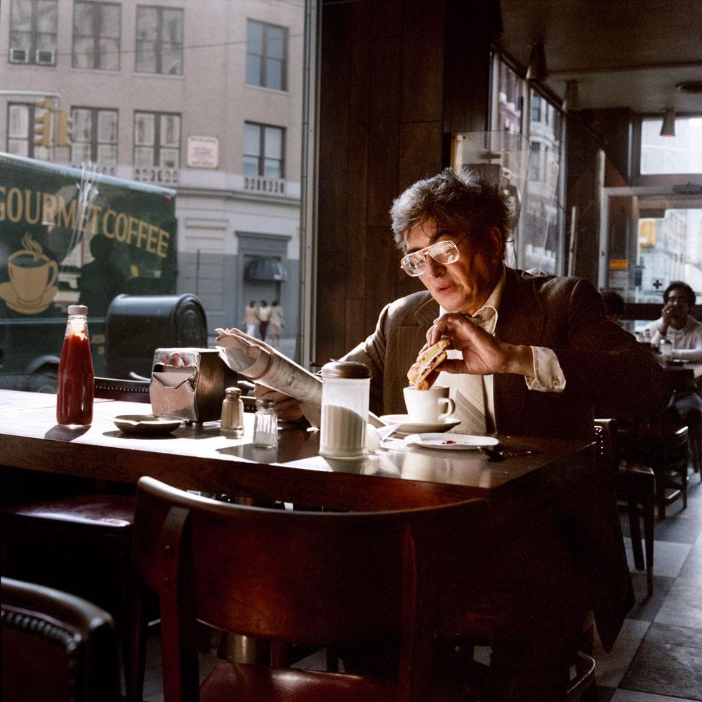 Кофе и сэндвич, 1985
