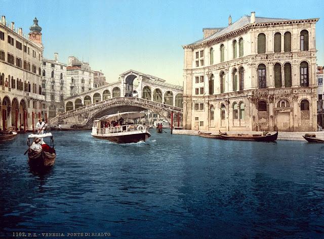 Гранд-канал с мостом Риальди.