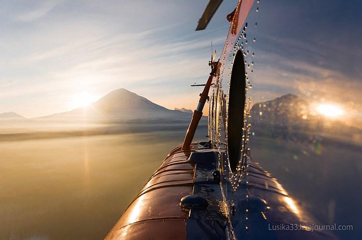 На вертолете над Камчаткой (13 фото)