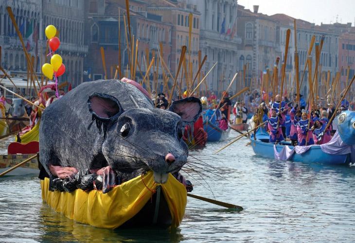 Карнавал в Венеции 2018 (18 фото)