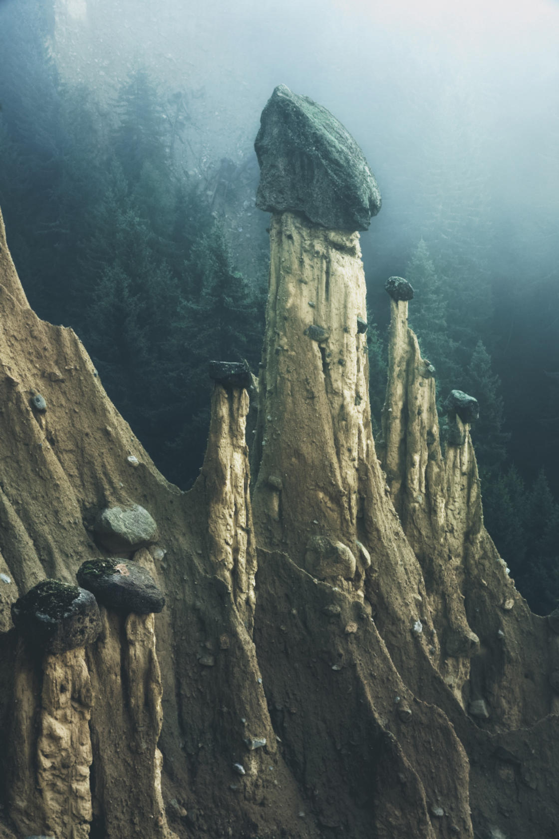 Otherworld – These strange geological formations are formed by erosion