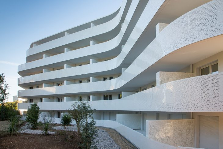 La Barquiere is a 62 housing project located in the 9th district of Marseille (France). The urban ne