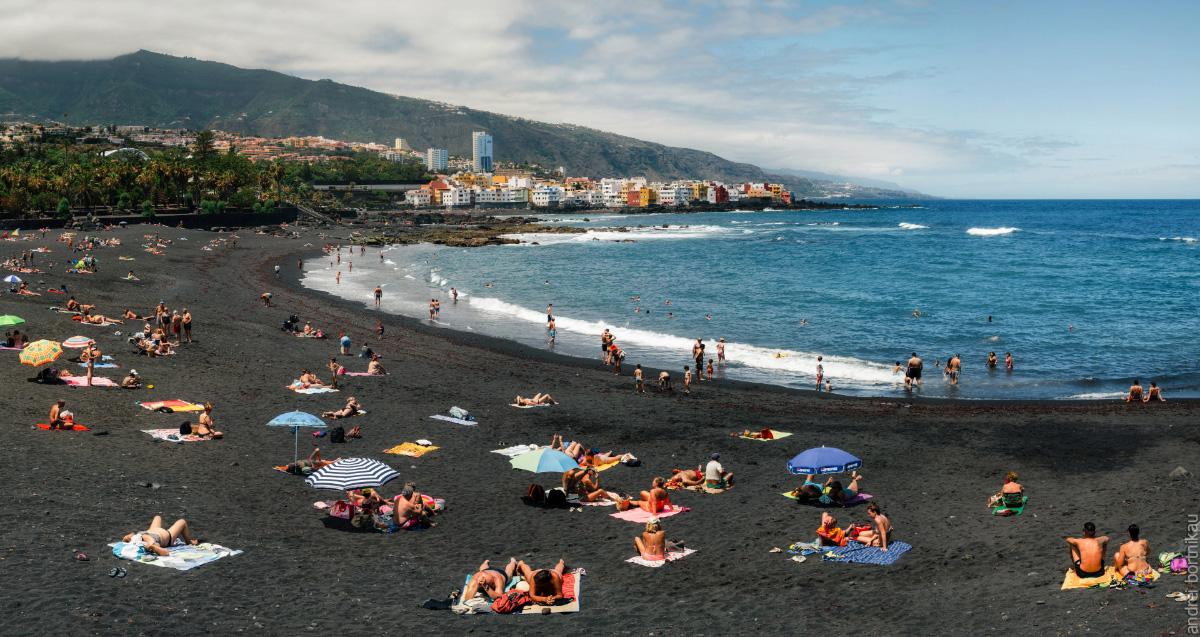 Тенерифе, Канарские острова, Канары. Пуерто де ла Круз