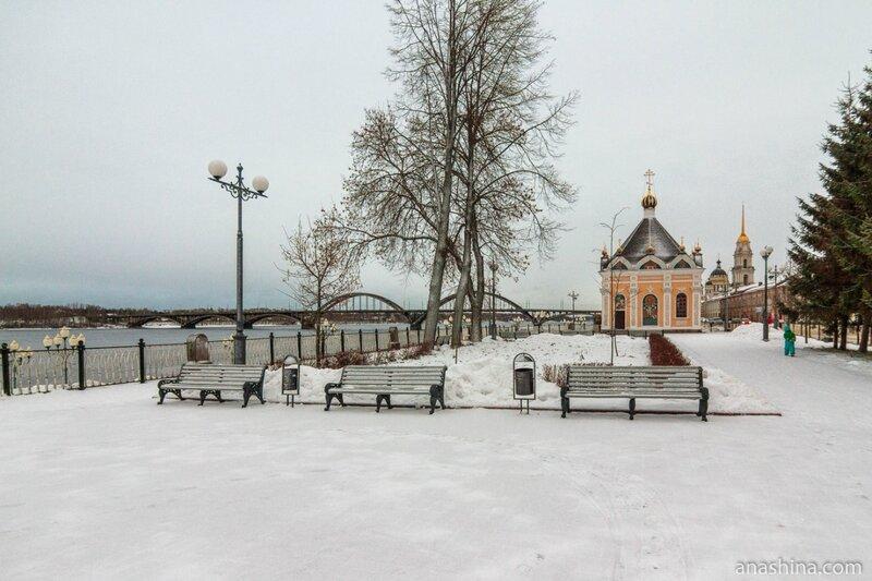 Сквер, Рыбинск