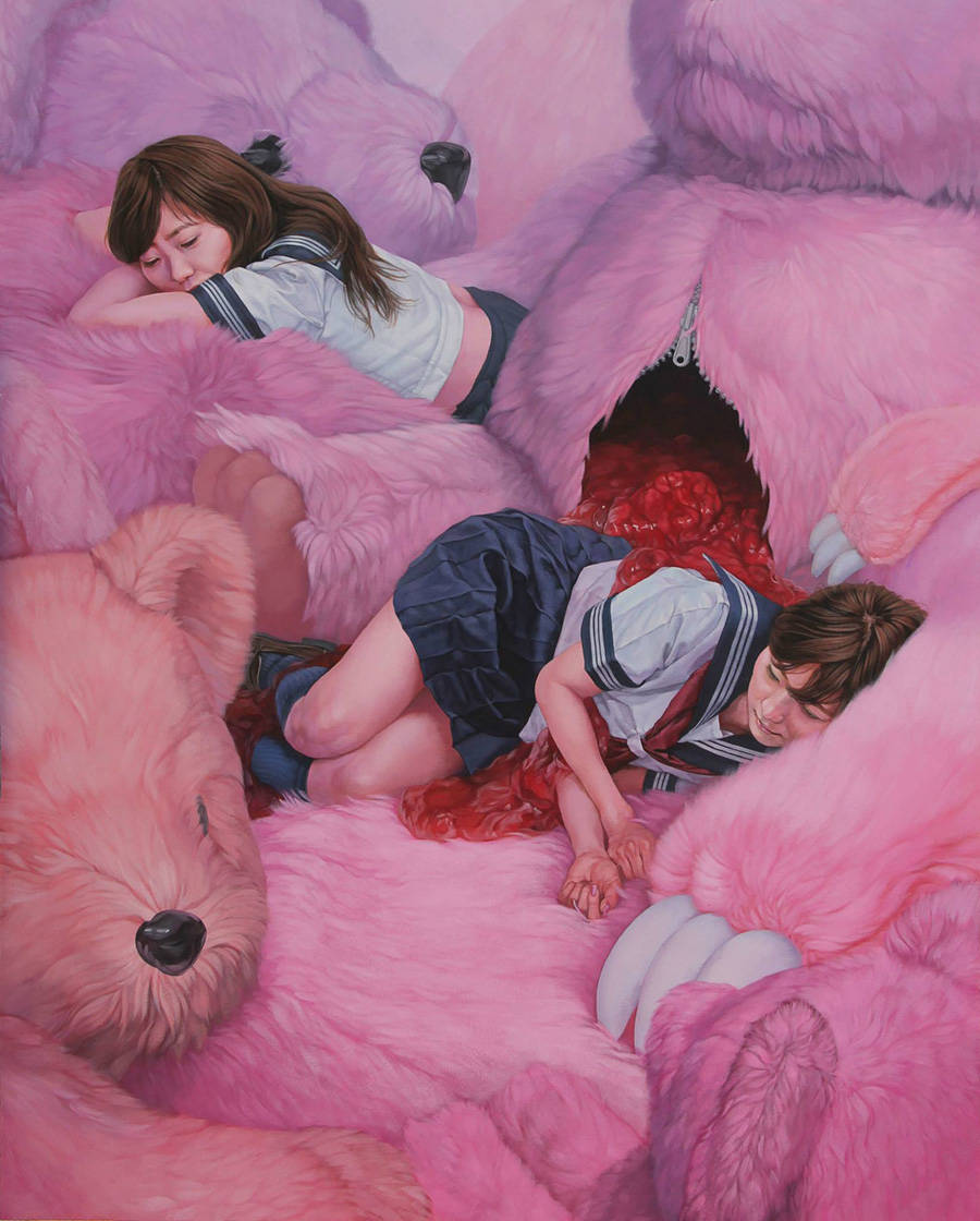 Surreal and Disturbing Loss of Innocence Paintings