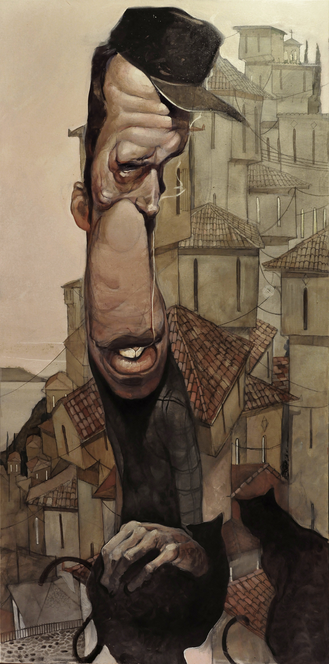 Caricatures and Illustrations by Stamatis Laskos