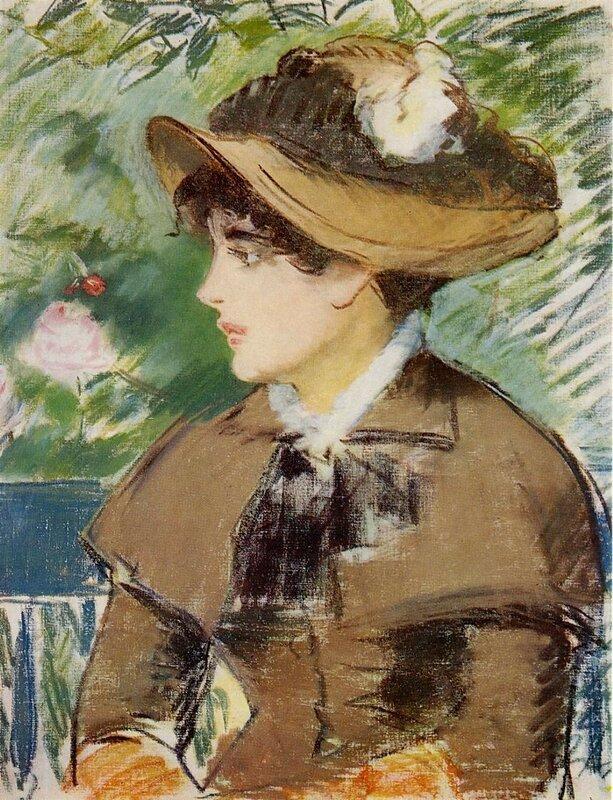 Édouard Manet - Woman on a Bench