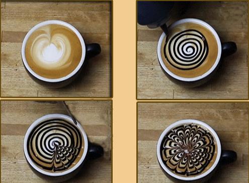 кофе латте рецепт, кофе латте в домашних, кофе латте в домашних условиях