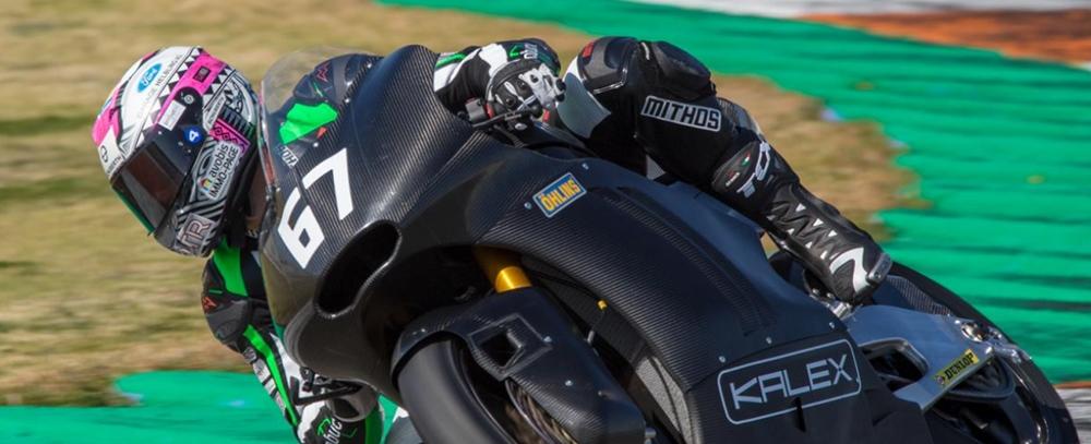 Успешные первые испытания мотоцикла Kalex Moto2 2019