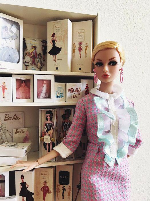 У кукол тоже бывают коллекции кукол