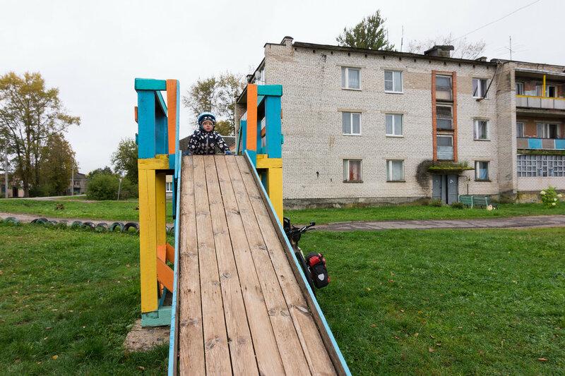 детская площадка в Тесово-4