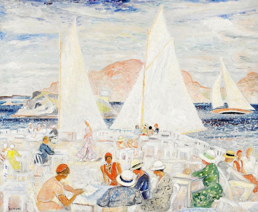'Sommardag i Fiskebäckskil'