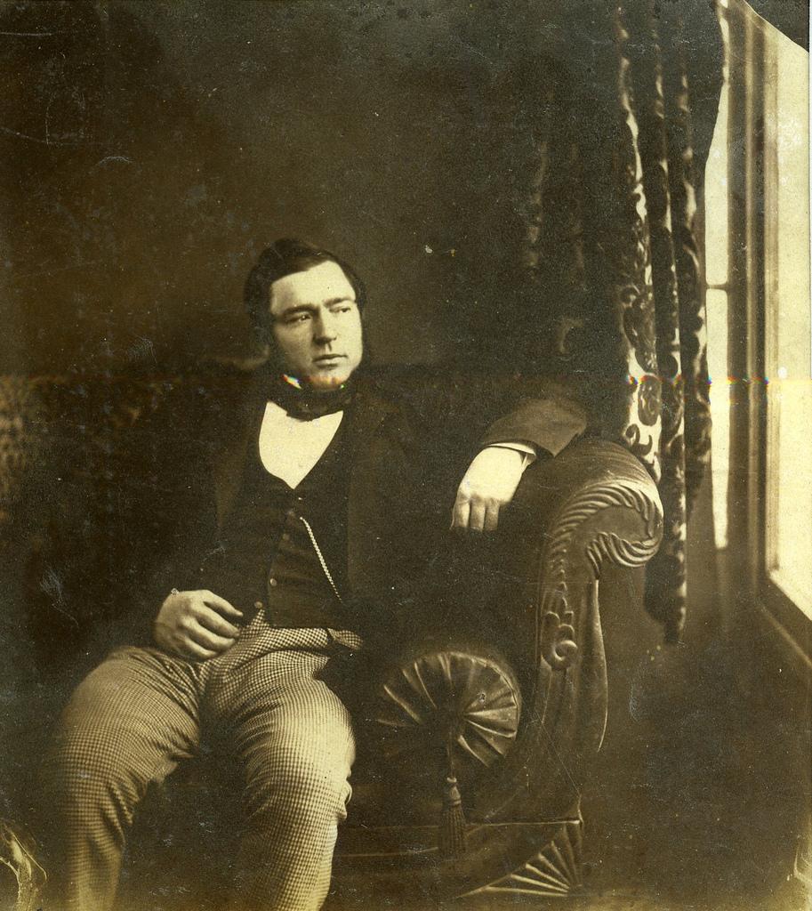 1850-е. Джентльмен у окна
