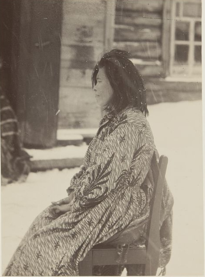 Женщина ханка. Ларяцкое, Вах