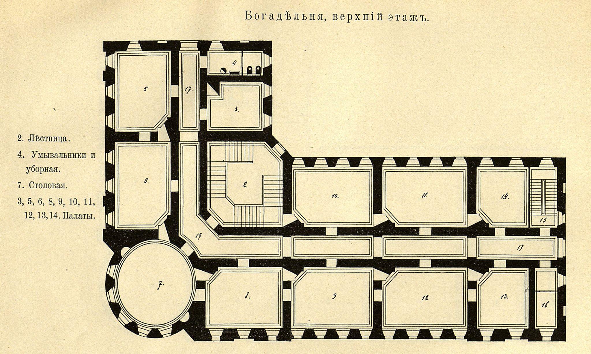32. Богадельня. Верхний этаж