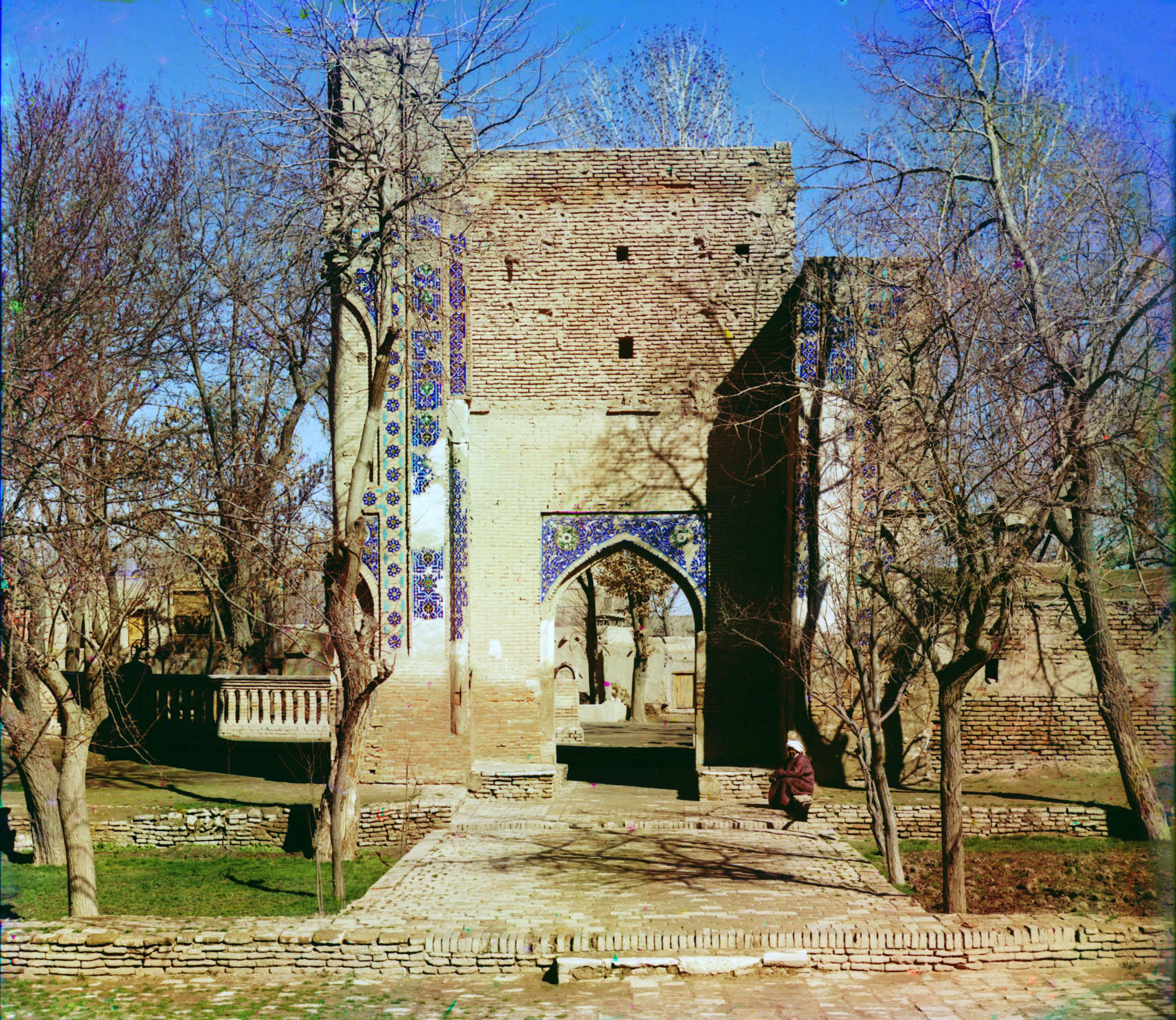 Гур-Эмир. Выход из мечети (мавзолея)