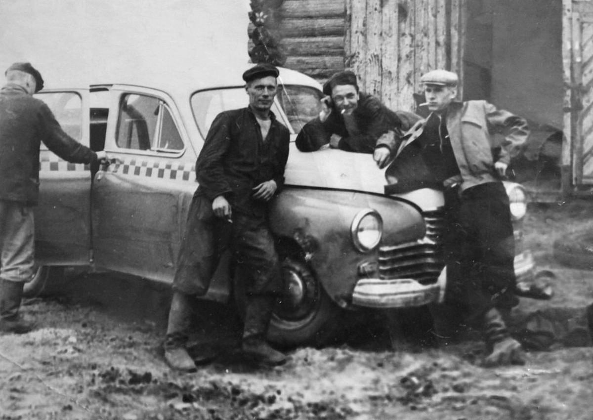 1950-е. Леспромхоз