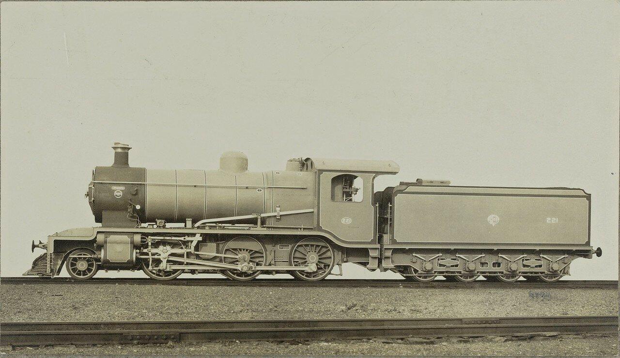 1920. Локомотив компании «Baldwin Locomotive Works» из Филадельфии