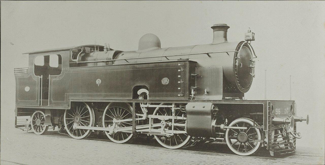 1912. Локомотив компании «Henschel & Sohn Kassel»