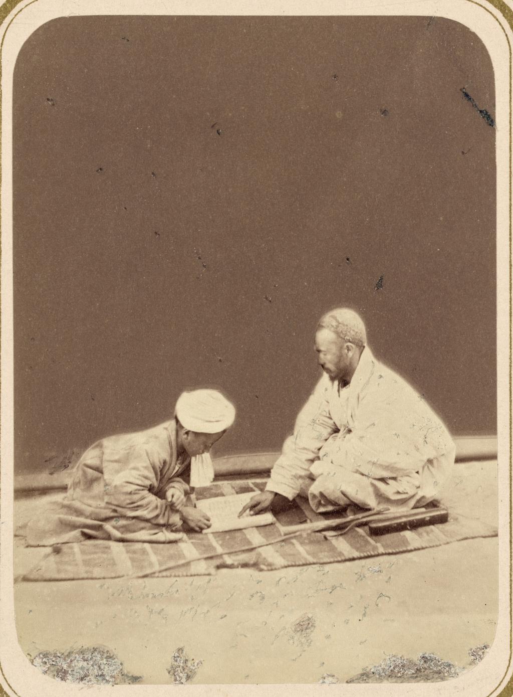 Мусульманская школа. Выслушивание урока