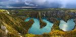 Меандры реки Увац