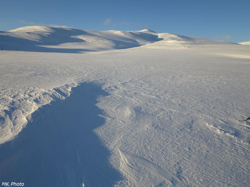 Полярный Урал в закатных лучах