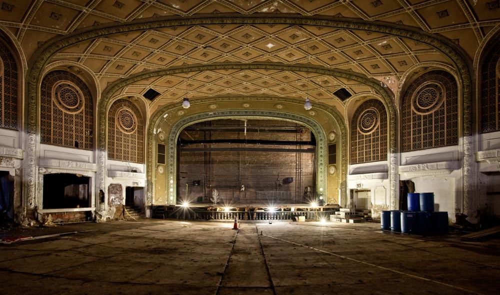 Заброшенный театр эстрады в США